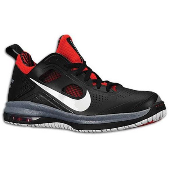 best sneakers 4f96c 6d2d9 MENS NIKE AIR MAX DOMINATE XD Black Red BASKETBALL